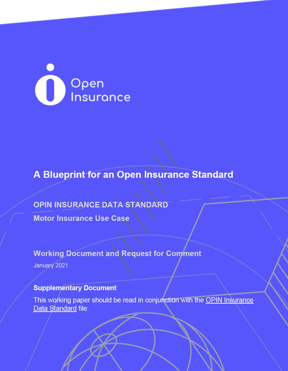Open Insurance blueprint